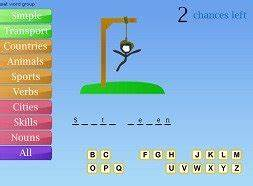 Play Hangman line Free Brain Game