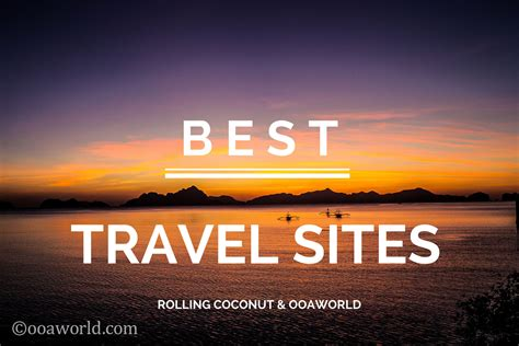 Best Travel Sites Top 10 Travel Blogs Per Category Ooaworld