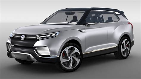 Ssangyong X100 B-segment SUV - production XLV concept to ...