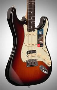 Fender American Elite Stratocaster Hss Shawbucker Electric