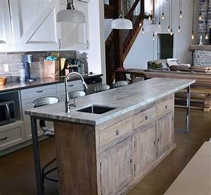 Rustic Redifined! - One of a kind kitchen island! - Rustic