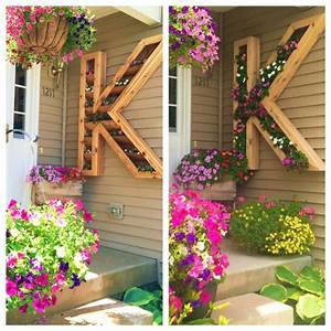 how to make a letter planter total survival With letter planter