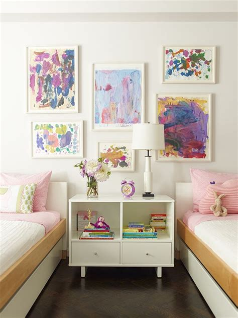 shared nightstand room storage ideas kidspace