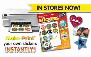 Stickeryou lets kids print their own stickers at home for How to print your own labels at home