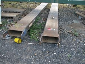 set forklift extension tynes steel approx mml