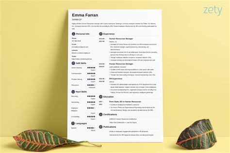 creative resume templates for enginers creative resume templates 16 exles to guide