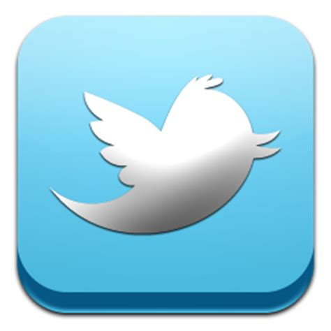 Twitter Icon | Classic 3D Social Iconset | GraphicsVibe