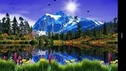 Mountain Google Lake Spring Screensavers Wallpapers Android