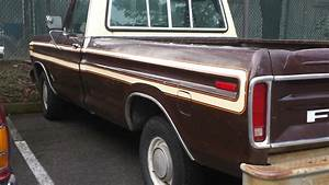 1979 Ford F150 Full Size Pickup Ranger Edition 2wd 400 V8