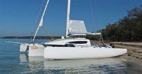 F Boat by Trimaran Designs By Farrier Marine Inc