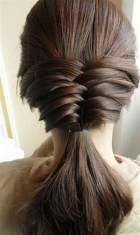 easy everyday hairstyles long hair