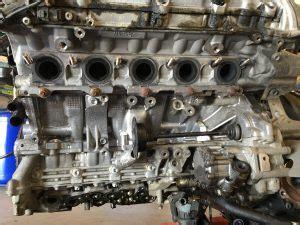 audi rs    engine oil leak mdm technik