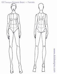 basic croquis related keywords suggestions basic With fashion templates front and back female