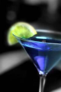 Blue Martini | MixnSip.com  Blue