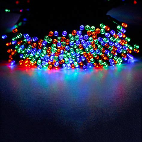40m 400leds solar powered led garden lights string