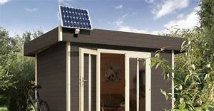 Gartenhaus Selber Planen : solaranlage gartenhaus planen my blog ~ Michelbontemps.com Haus und Dekorationen