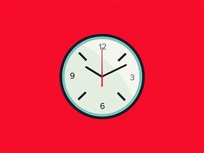 Clock Animation Motion Icon Dribbble Tweet Copy