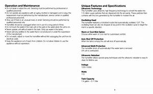 Operation And Maintenance  Unique Features And