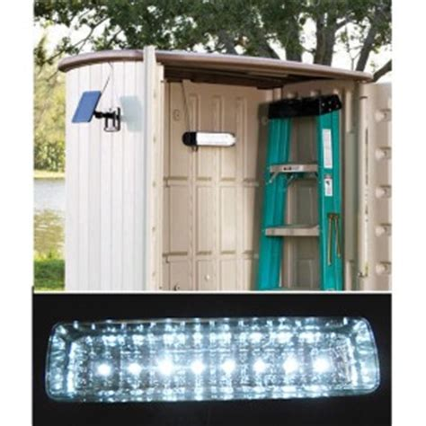 solar powered shed light workshop garage cing 8 leds