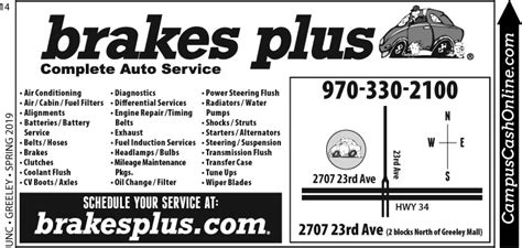 15660 Brakes Plus Littleton Coupons by Brakes Plus Coupons Greeley Co Auto Detailing Coupons
