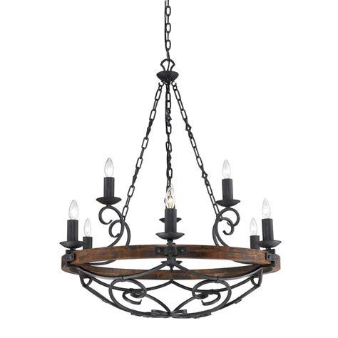 black iron chandelier vargas collection 9 light black iron 2 tier chandelier