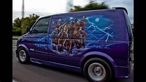 Ghostrider custom van at Megaspeed 2013 car show - YouTube