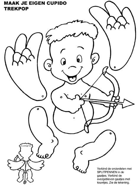 Kleurplaat Cupido by Kleurplaat Trekpop Cupido Kleurplaten Nl Make It With