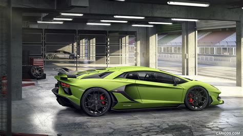 2019 Lamborghini Lamborghini Aventador Svj Wallpaper by 2019 Lamborghini Aventador Svj Side Hd Wallpaper 4