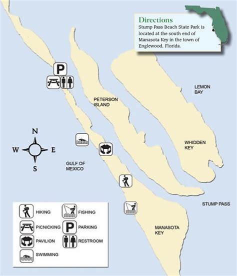 state beach park charlotte pass stump map fish fl national parks fishing florida catch county