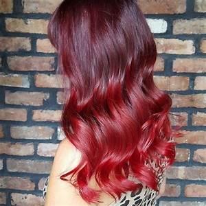 Ombré Hair Rouge : red hair color inspiration ~ Melissatoandfro.com Idées de Décoration
