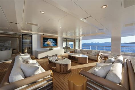 interieur yacht de luxe en  inspirations deco