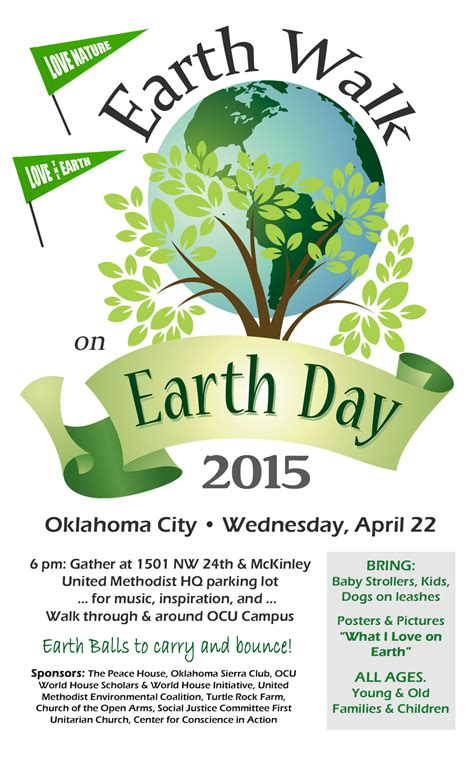 Walk For The Earth On Earth Day The Peace House Oklahoma