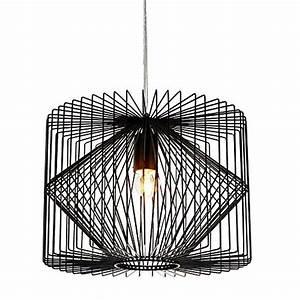 Lampe Metall Schwarz : deckenlampe schwarz wei inspiration ~ Articles-book.com Haus und Dekorationen