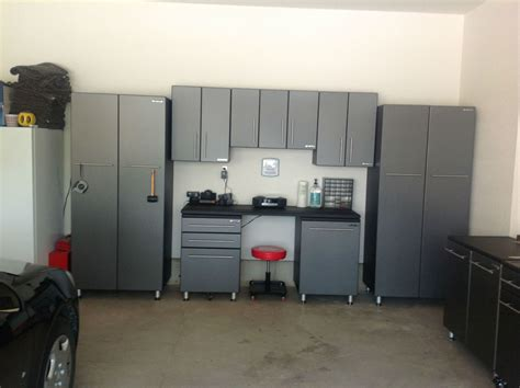 Kobalt Cabinets Vs Gladiator Cabinets by Garage Storage Cabinet Systems Bathroom Counter Storage
