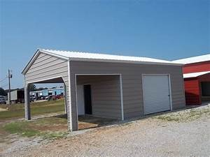 Garage Carport Kombination : 20 x 26 x 10 combo garage choice metal buildings ~ Sanjose-hotels-ca.com Haus und Dekorationen
