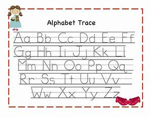 alphabet tracing kiddo shelter With learning to write alphabet templates