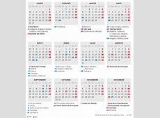 Calendario días festivos 2017 calendario laboral 2017