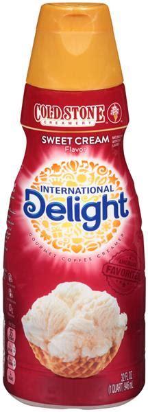 International delight coffee creamer singles, cold stone creamery sweet cream, 24 count (pack of 6). International Delight Cold Stone Creamery Sweet Cream Flavor Gourmet Coffee Creamer   Hy-Vee ...
