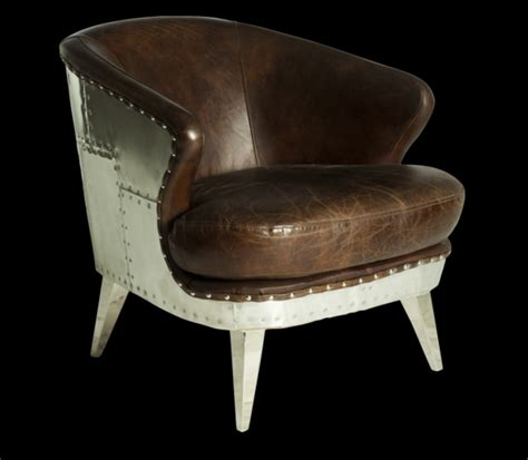 industrial style leather accent chair horner interiors