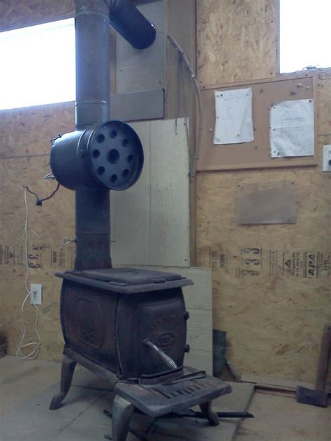 build  woodstove heat exchange shtf prepping