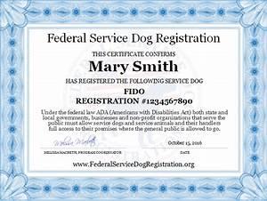 service dog registration digital certificate top dog With best online esa letter
