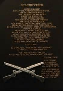 Army Infantry Creed
