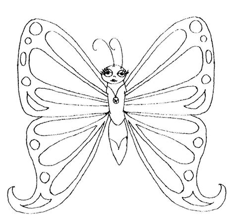 Coloring Images Of Butterflies by Butterfly Coloring Pages Coloring