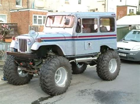 Photo Collection Mail Truck Lifted Ford