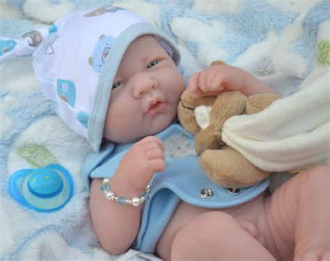 Pjs Bunny Realistic Berenguer La Newborn + Extras Baby Boy