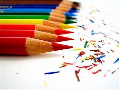 Desktop Wallpapers Educational Pencil Crayons Colors Colorful