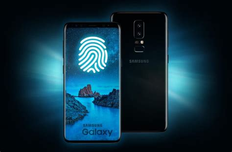 samsung galaxy s9 fingerprint sensor integrated in display