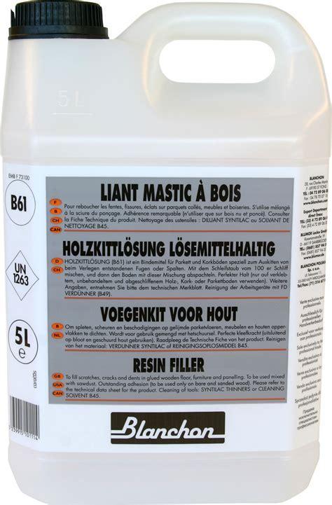 blanchon resin filler   Wooden Floor Specialists Ltd