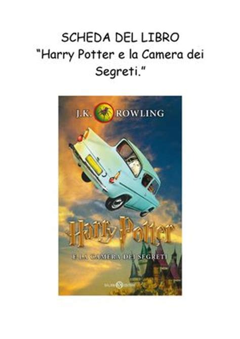 calameo harry potter  la camera dei segreti federica