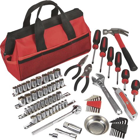 Ironton Tool Bag Set — 70pc, 14in And 38in Drive  Northern Tool + Equipment